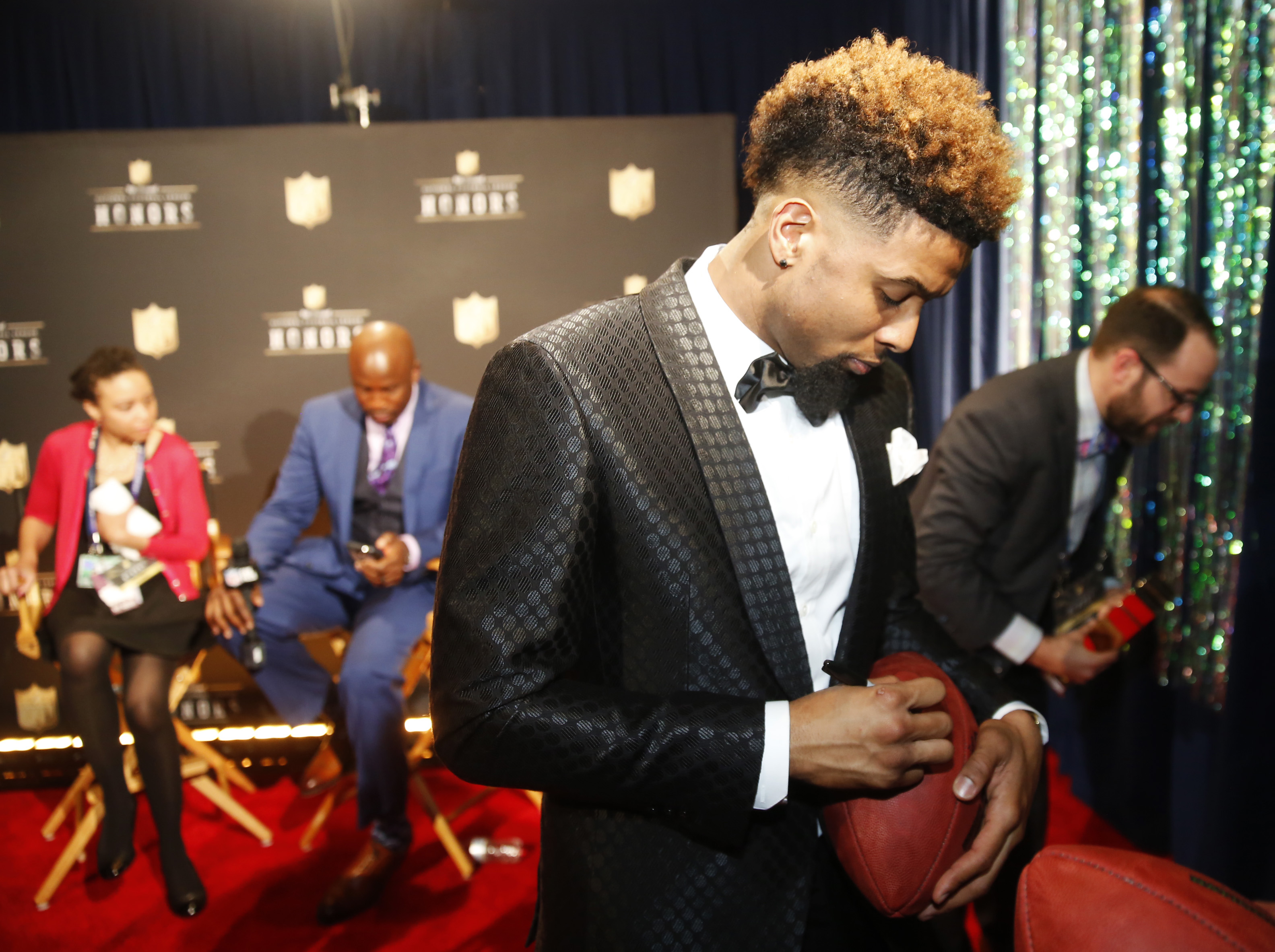 4th Annual NFL Honors - Backstage